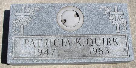QUIRK, PATRICIA K. - Sac County, Iowa   PATRICIA K. QUIRK