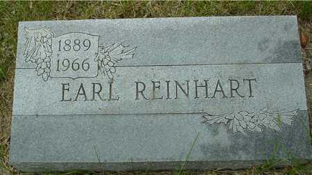 REINHART, EARL - Sac County, Iowa | EARL REINHART