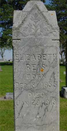 REIS, ELIZABETH - Sac County, Iowa | ELIZABETH REIS