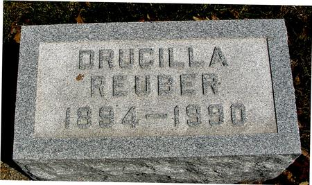 REUBER, DRUCILLA - Sac County, Iowa   DRUCILLA REUBER