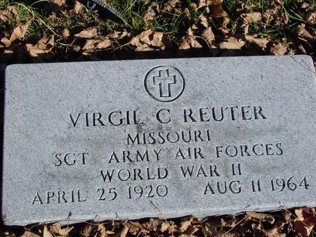 REUTER, VIRGIL C. - Sac County, Iowa | VIRGIL C. REUTER