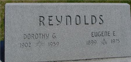 REYNOLDS, EUGENE & DOROTHY - Sac County, Iowa | EUGENE & DOROTHY REYNOLDS