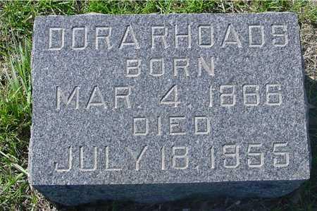 RHOADS, DORA - Sac County, Iowa | DORA RHOADS