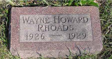 RHOADS, WAYNE HOWARD - Sac County, Iowa | WAYNE HOWARD RHOADS
