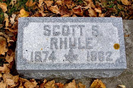 RHULE, SCOTT S. - Sac County, Iowa   SCOTT S. RHULE