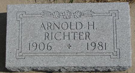 RICHTER, ARNOLD H. - Sac County, Iowa | ARNOLD H. RICHTER