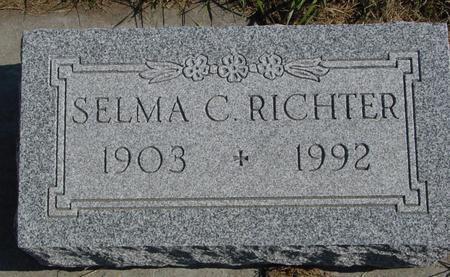 RICHTER, SELMA C. - Sac County, Iowa | SELMA C. RICHTER