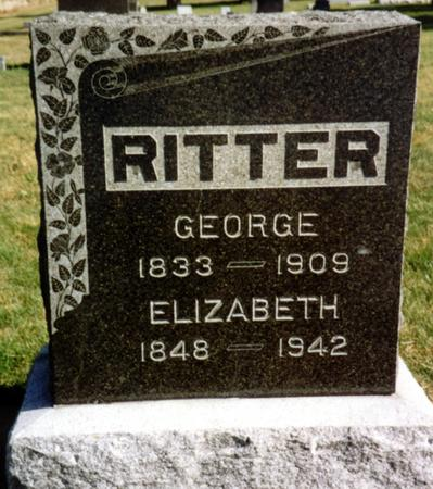 RITTER, GEORGE & ELIZABETH - Sac County, Iowa   GEORGE & ELIZABETH RITTER