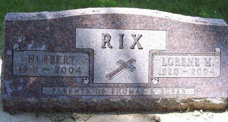 RIX, LORENE MARIE - Sac County, Iowa | LORENE MARIE RIX