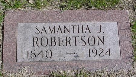 ROBERTSON, SAMANTHA JANE - Sac County, Iowa | SAMANTHA JANE ROBERTSON