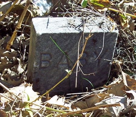 ROBINSON, INFANT - Sac County, Iowa   INFANT ROBINSON