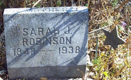 TATMAN ROBINSON, SARAH JANE - Sac County, Iowa | SARAH JANE TATMAN ROBINSON