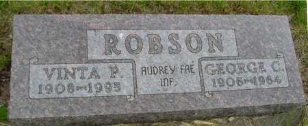ROBSON, GEORGE & VINTA P. - Sac County, Iowa | GEORGE & VINTA P. ROBSON