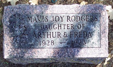 RODGERS, MAVIS JOY - Sac County, Iowa | MAVIS JOY RODGERS