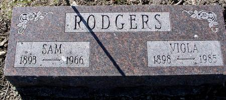 RODGERS, SAM & VIOLA - Sac County, Iowa   SAM & VIOLA RODGERS