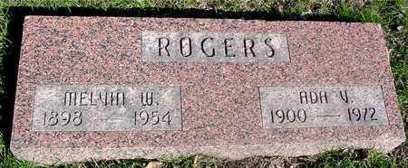 ROGERS, MELVIN & ADA - Sac County, Iowa | MELVIN & ADA ROGERS