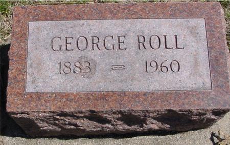 ROLL, GEORGE - Sac County, Iowa | GEORGE ROLL