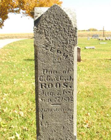 ROOS, ZEPH - Sac County, Iowa | ZEPH ROOS