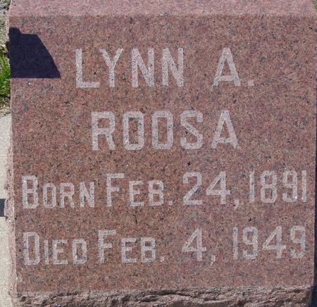ROOSA, LYNN A. - Sac County, Iowa   LYNN A. ROOSA