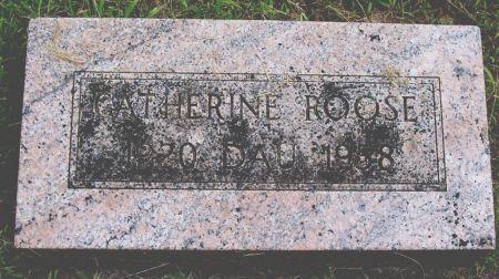 ROOSE, CATHERINE - Sac County, Iowa   CATHERINE ROOSE