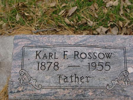 ROSSOW, KARL E. - Sac County, Iowa | KARL E. ROSSOW