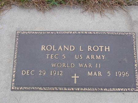 ROTH, ROLAND - Sac County, Iowa | ROLAND ROTH