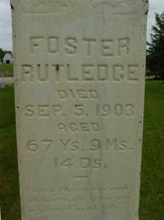 RUTLEDGE, FOSTER - Sac County, Iowa | FOSTER RUTLEDGE