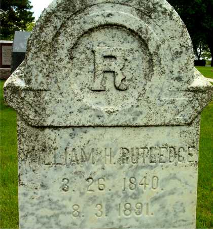 RUTLEDGE, WILLIAM H. - Sac County, Iowa | WILLIAM H. RUTLEDGE