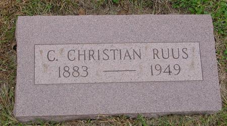RUUS, C. CHRISTIAN - Sac County, Iowa | C. CHRISTIAN RUUS