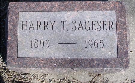 SAGESER, HARRY T. - Sac County, Iowa | HARRY T. SAGESER