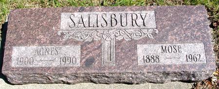 SALISBURY, MOSE & AGNES - Sac County, Iowa   MOSE & AGNES SALISBURY