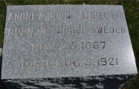 SAMUELSON, ANDREW JOHN - Sac County, Iowa | ANDREW JOHN SAMUELSON