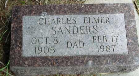 SANDERS, CHARLES ELMER - Sac County, Iowa | CHARLES ELMER SANDERS
