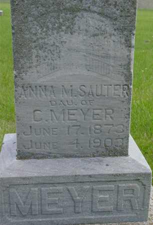 SAUTER, ANNA M. - Sac County, Iowa | ANNA M. SAUTER