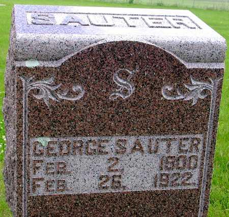 SAUTER, GEORGE - Sac County, Iowa | GEORGE SAUTER
