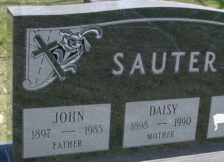SAUTER, JOHN & DAISY - Sac County, Iowa | JOHN & DAISY SAUTER