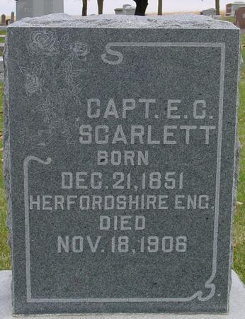 SCARLETT, CAPT. E. C. - Sac County, Iowa | CAPT. E. C. SCARLETT
