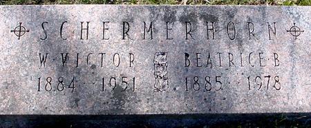 SCHERMERHORN, W. VICTOR & BEATRICE - Sac County, Iowa | W. VICTOR & BEATRICE SCHERMERHORN