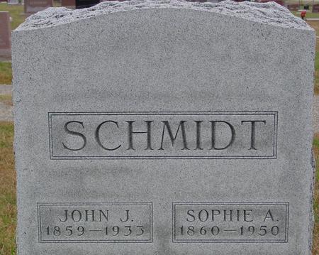 SCHMIDT, JOHN J. & SOPHIE - Sac County, Iowa | JOHN J. & SOPHIE SCHMIDT