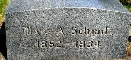 SCHMITZ, MARY A. - Sac County, Iowa   MARY A. SCHMITZ