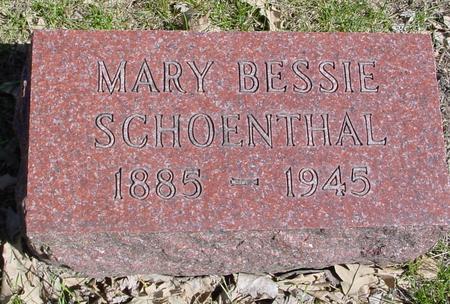 SCHOENTHAL, MARY BESSIE - Sac County, Iowa | MARY BESSIE SCHOENTHAL