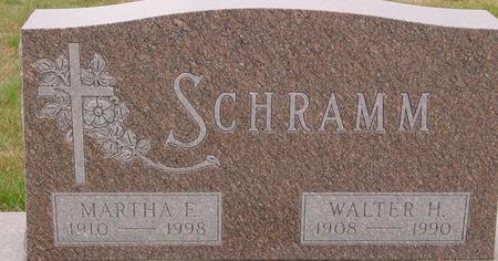 SCHRAMM, WALTER & MARTHA - Sac County, Iowa | WALTER & MARTHA SCHRAMM