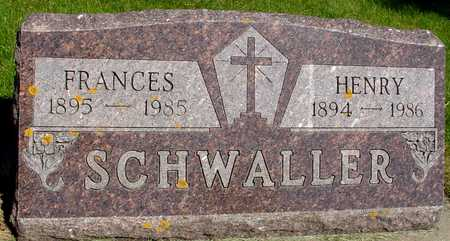 SCHWALLER, HENRY & FRANCES - Sac County, Iowa | HENRY & FRANCES SCHWALLER