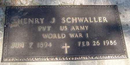 SCHWALLER, HENRY J. - Sac County, Iowa | HENRY J. SCHWALLER