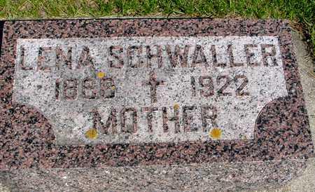 SCHWALLER, LENA - Sac County, Iowa | LENA SCHWALLER