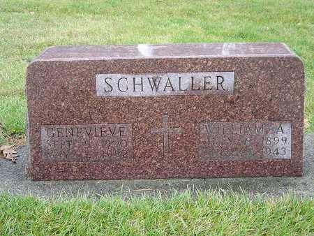 SCHWALLER, WILLIAM A. - Sac County, Iowa | WILLIAM A. SCHWALLER