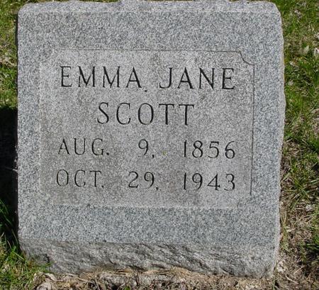 SCOTT, EMMA JANE - Sac County, Iowa | EMMA JANE SCOTT