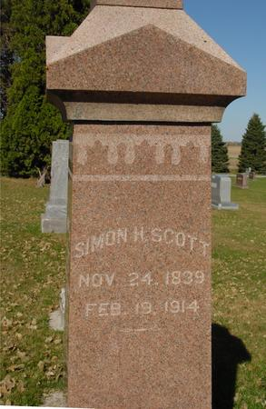 SCOTT, SIMON H. - Sac County, Iowa | SIMON H. SCOTT