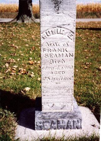 SEAMAN, SUSIE E. - Sac County, Iowa | SUSIE E. SEAMAN