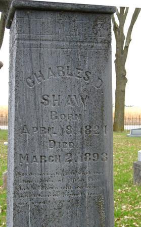 SHAW, CHARLES D. - Sac County, Iowa | CHARLES D. SHAW